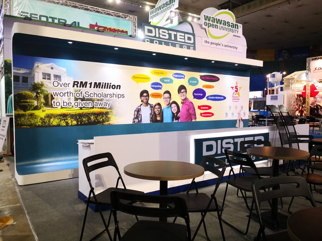 Disted College_Education Fair 2018_Special Booth 12mx6m