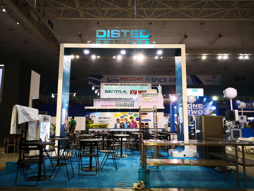 Disted College_Education Fair 2018_Special Booth 12mx6m_02