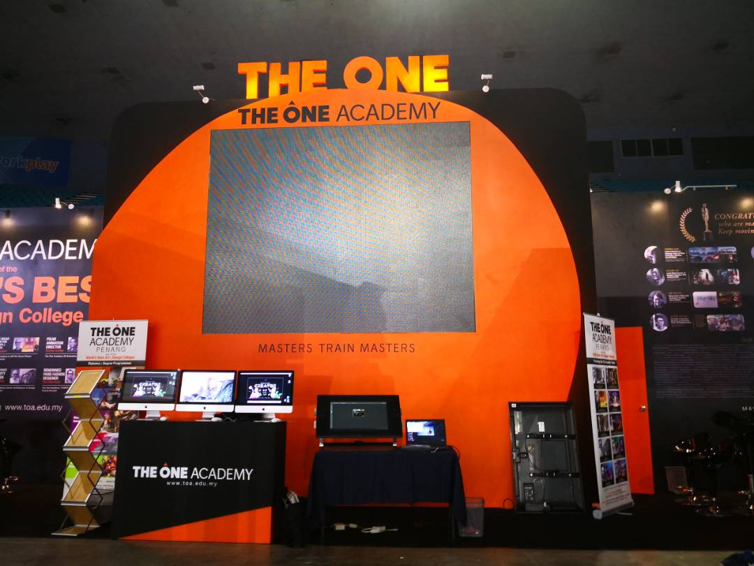 The One Academy_Education Fair 2018_Special Booth 18mx3m_02