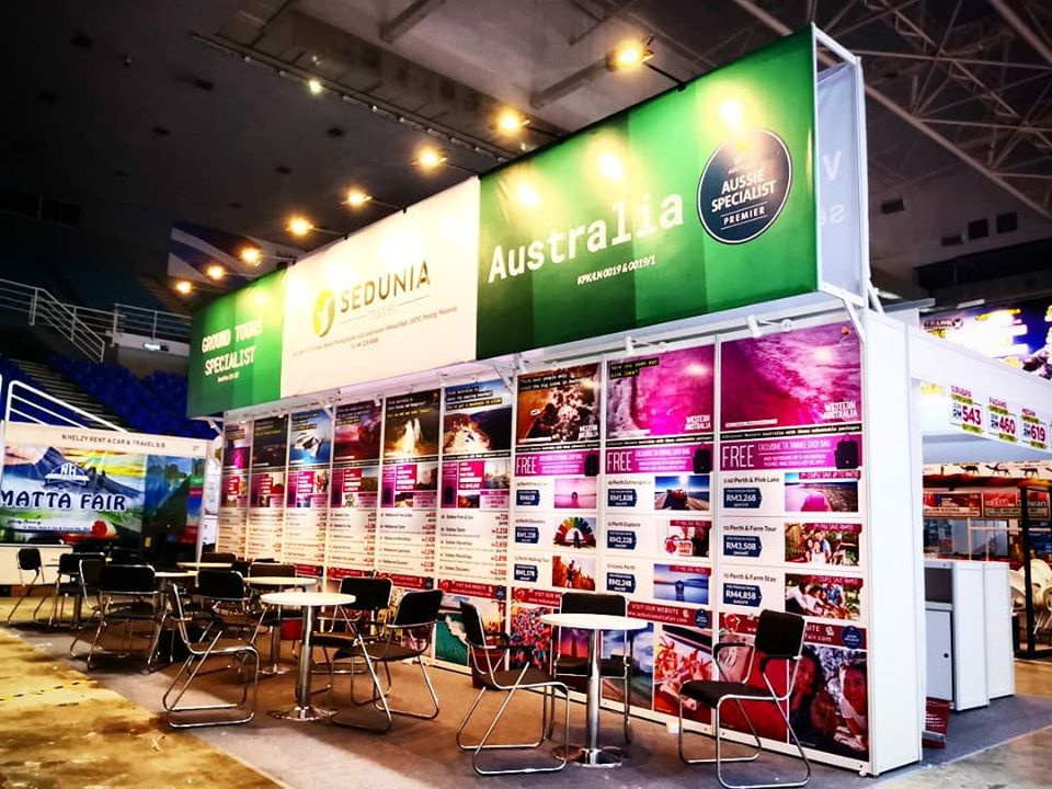 Sedunia Upgraded system booth 1