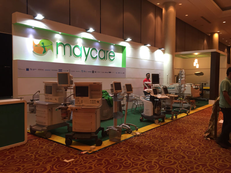 Carpentry Works of Maycare Booth